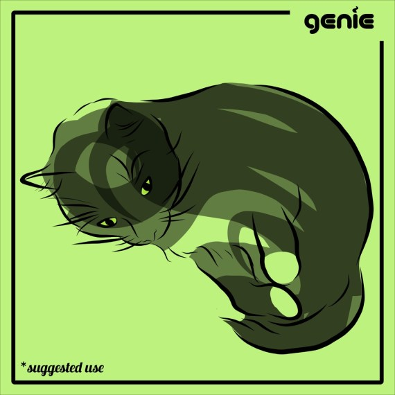 Black Cat Vector Graphic Illustration Hand Drawn Drawing Sketch - Royalty Free PDF SVG PNG