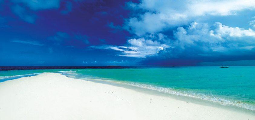 Blickwinkel im Indischen Ozean