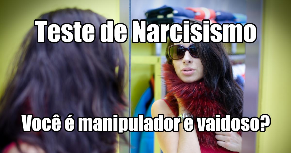 Teste de Narcisismo