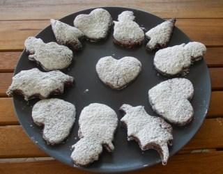 Ricetta Biscotti cacao noci e nocciole