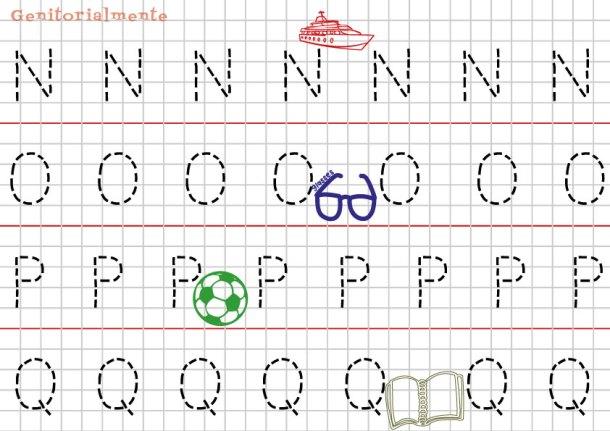 Pregrafismo prescrittura: Imparare Alfabeto