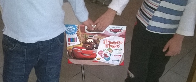 Regali creativi per bambini: pannetto Magic Sticky | gentorialmente