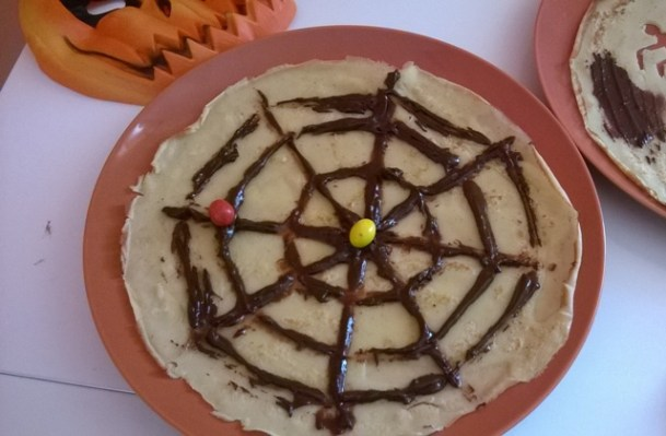 Ricette di halloween: crepes decorate | Genitorialmente