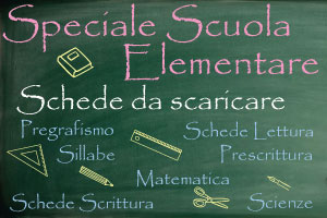 Scuola – Schede da scaricare - Genitorialmente