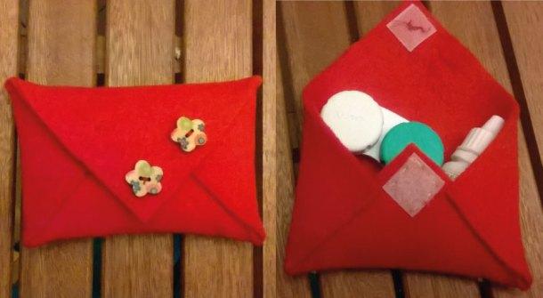 Pochette da borsetta fai da te: idea regalo | Genitorialmente