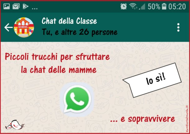 Chat delle mamme: piccoli trucchi per usarle e sopravvivere | Genitorialmente