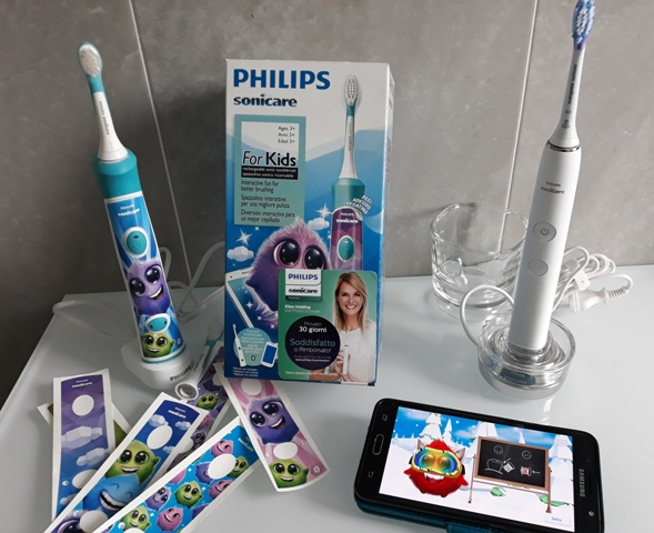 Come lavarsi i denti e divertirsi: Philips Sonicare For Kids | Genitorialmente