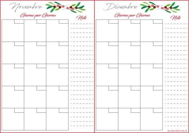 Preparativi per il Natale: planner da scaricare   Genitorialmente