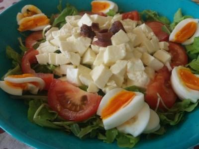 Menù settimanale vario ed equilibrato - insalatona colorata