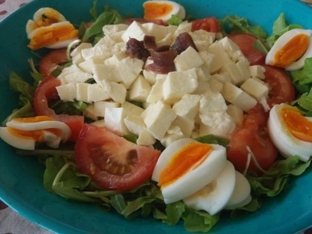 Menù settimanale vario ed equilibrato - insalatona