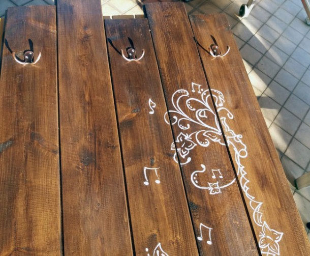 Attaccapanni da parete di legno fai da te: idee casa | Genitorialmente