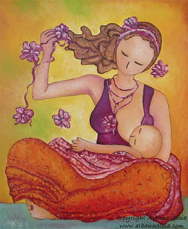 Image result for mamma che allatta disegno