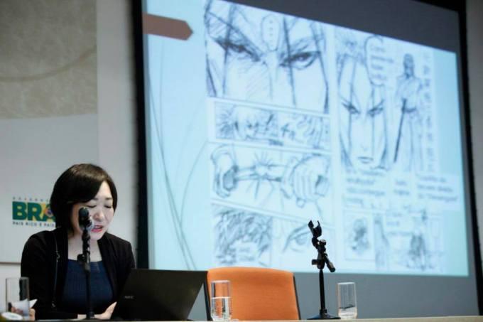 Kaoru fala sobre o processo de criação de um mangá