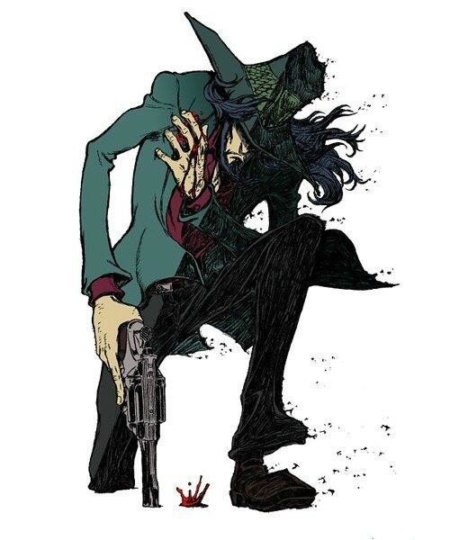Lupin the IIIrd Daisuke Jigen's Gravestone