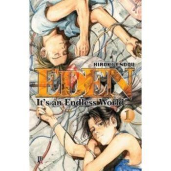 Eden, com certeza, é um dos melhores mangas em publicação aqui no Brasil.
