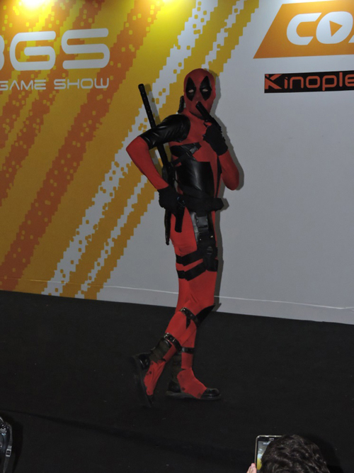 Deadpool sensualizando