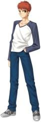 Protagonista de Fate/stay night, Shirou Emiya.