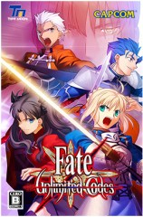Capa de Fate/Unlimited Codes para PlayStation 2.