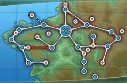 Localização da Rota 7.
