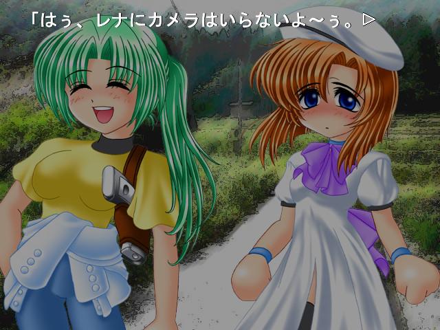 Jogo original de Higurashi lançado em 2002