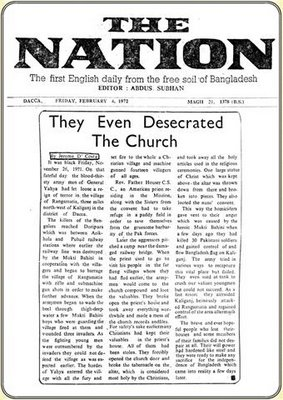 They even desecrated the church