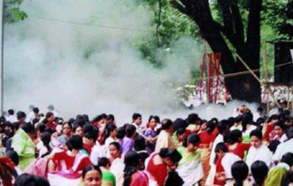 Blast at a Bangla New Year's Fair in Dhaka in 2001