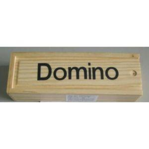 Domino Medio In Legno 16.5x5.5x4cm +3a
