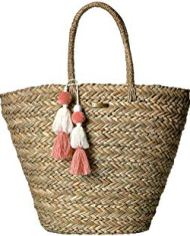 Shorelines Straw – Beach Bag