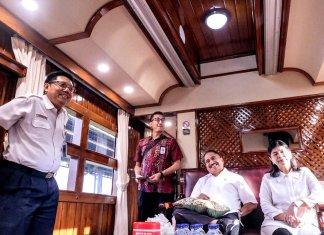 kereta api pariwisata bersama arief yahya-genpinews