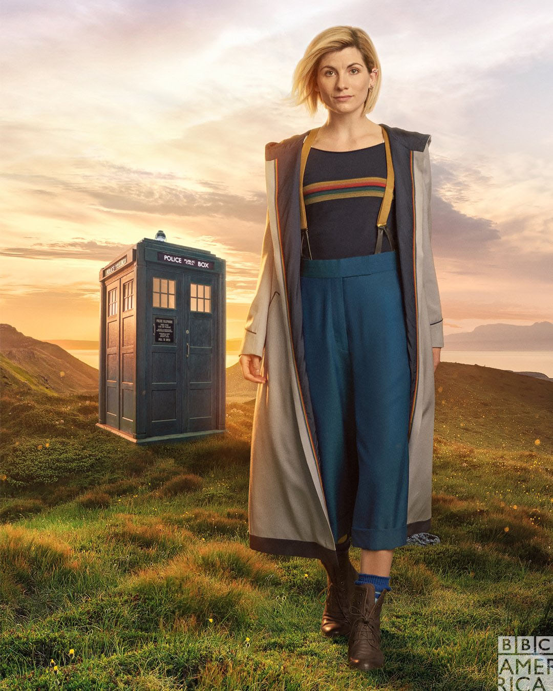 Doctor Who: First look at Jodie Whittaker in character