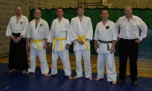 Christophe, Ian, Ben, James, Eoin & Phil