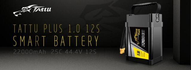 Tattu 22000mAh 12S 25C lipo battery
