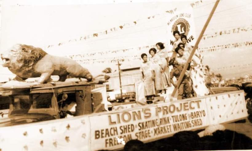 MT. MATUTUM LION'S CLUB FLOAT