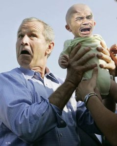 Bush and Baby Manny