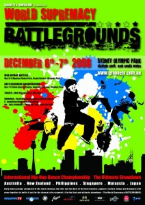 World Supremacy Battlegrounds Poster