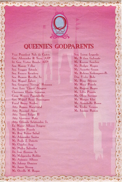 Queenie Pacquiao Baptismal Invite