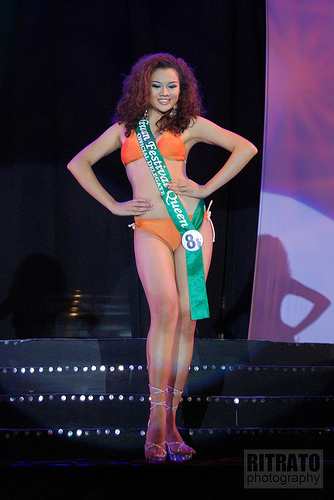 Ms. Aliwan Queen 1st runner up in swimsuit
