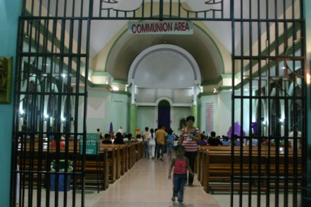 Inside St. Michael Parish