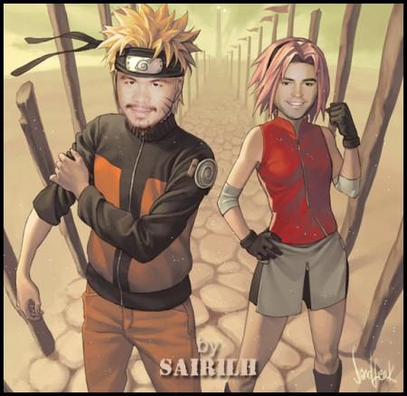 Pacquiao Funny Picture - Naruto