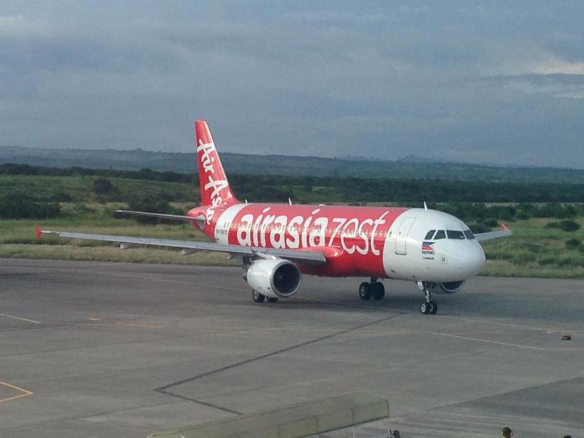 AirAsia Plane in Gensan