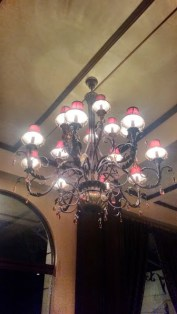 The Giant Chandelier of the Lobby