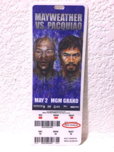 $5000 May-Pac Fight Ticket