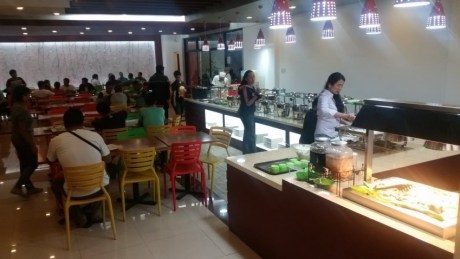 inasal de cebu buffet area