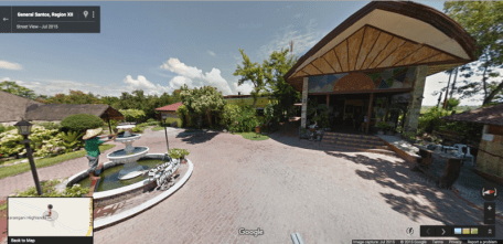 GOOGLE STREET VIEW OF SARANGANI HIGHLANDS