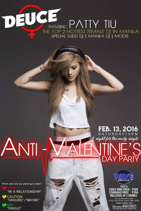 wave super club valentine's