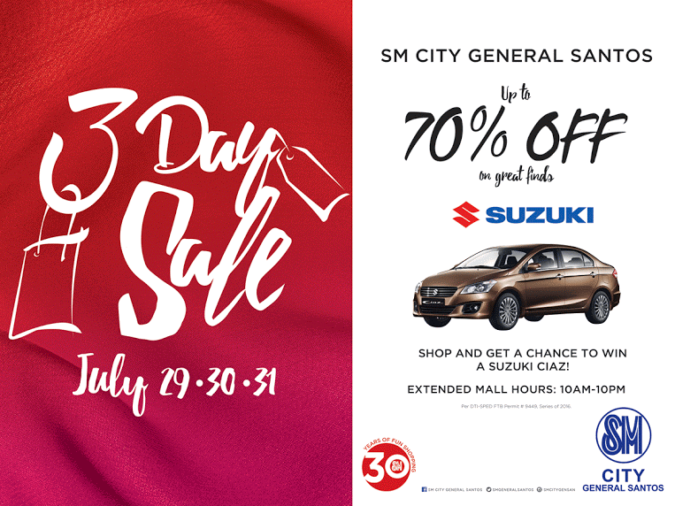 SM GENSAN 3-DAY SALE