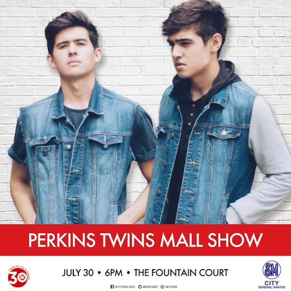 sm gensan perkins twins concert