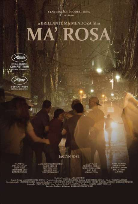 Ma'Rosa Movie Poster