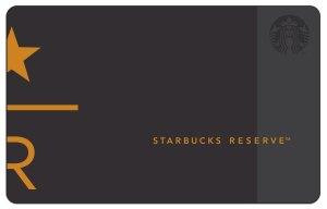 Starbucks Reserve Core Card