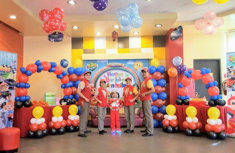Rev up for Jollibee's new exciting party theme: JolliRace